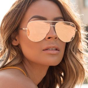 Quay Aviators Sunglasses